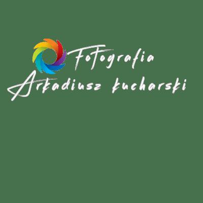 Logo Kucharski arkadiusz białe